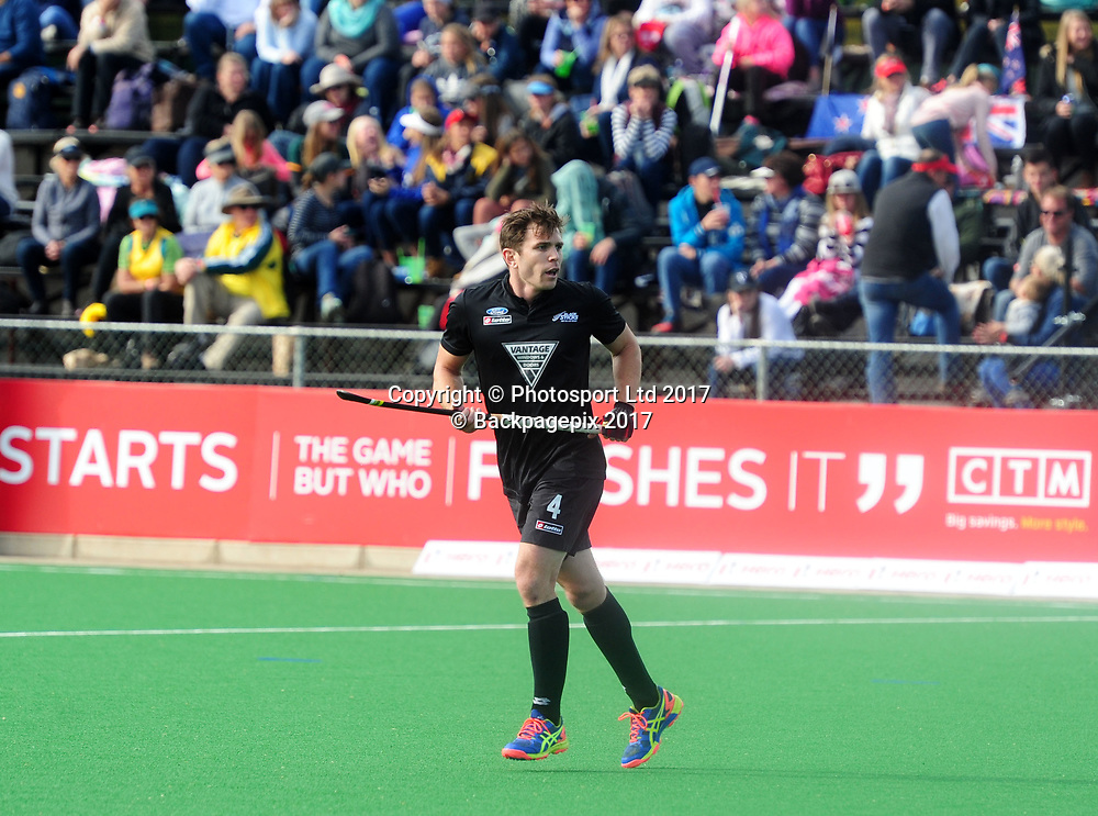 Nick Haig of New Zealand during 2017 Hockey World League Men Semi Final game between Spain and New Zealand at Wits Hockey Fields in Parktown on 17 July 2017 ©Aubrey Kgakatsi/BackpagePix / www.photosport.nz
