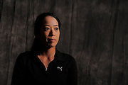 Noriko Nakazaki during portrait session prior to the second stage of LPGA Qualifying School at the Plantation Golf and Country Club on Oct. 6, 2013 in Vience, Florida. <br /> <br /> <br /> ©2013 Scott A. Miller