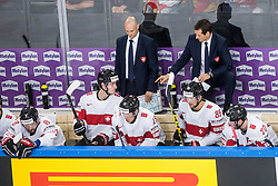 Patrick Fischer, head coach of Switzerland during the 2017 IIHF Men's World Championship group B Ice hockey match between National Teams of Norway and Switzerland, on May 7, 2017 in Accorhotels Arena in Paris, France. Photo by Vid Ponikvar / Sportida