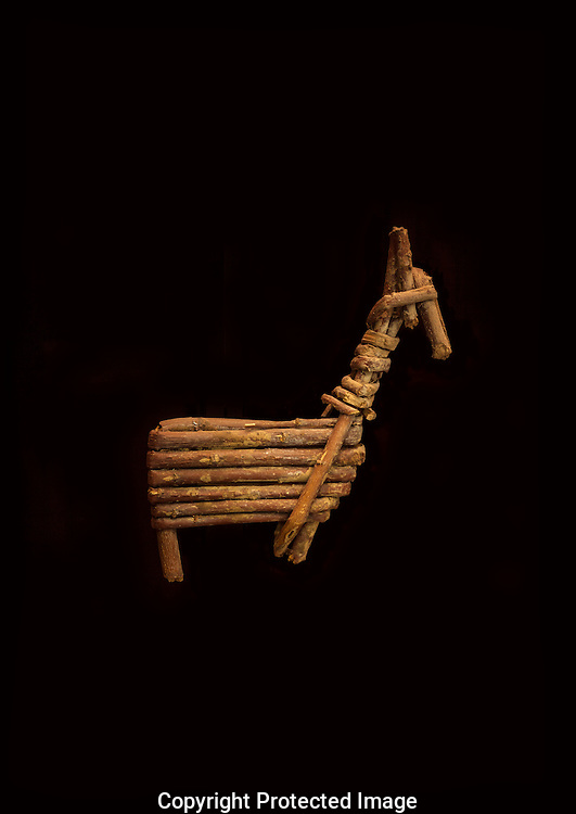 Split twig figurine, 2,000-4,000 years old (Archaic Culture), found in remote cave in Grand Canyon, AZ