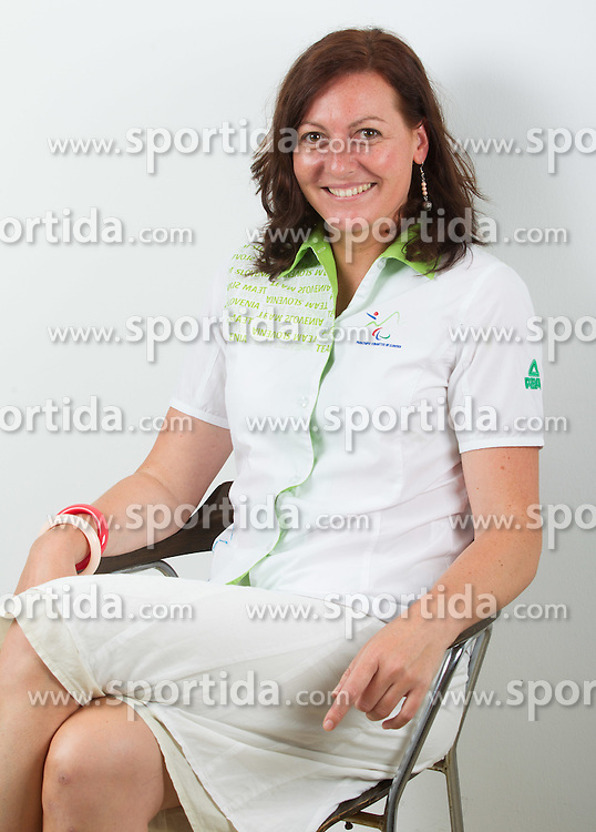 Katarina Tonin, dr. med of Slovenian Paralympic team for London 2012 on June 20, 2012 in Ljubljana, Slovenia. (Photo by Vid Ponikvar / Sportida.com)