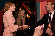 FLORENCE WELCH; LAURA BAILEY, ERIC FELNER, Nick Cave and the Bad Seeds with The Vampire's Wife and Matchesfashion.com party to celebrate the end of their 2017 World tour. Lou lou's. Hertford St. Mayfair.