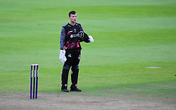 Somerset's Ryan Davies looks on after losing.  - Mandatory by-line: Alex Davidson/JMP - 15/07/2016 - CRICKET - Cooper Associates County Ground - Taunton, United Kingdom - Somerset v Middlesex - NatWest T20 Blast