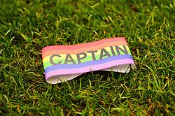 Rainbow captains armband - Mandatory by-line: Dougie Allward/JMP - 02/12/2017 - FOOTBALL - Memorial Stadium - Bristol, England - Bristol Rovers v Rotherham United - Sky Bet League One