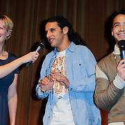 NLD/Amsterdam/20120219 - Premiere Sprookjesboom de Film, Curt Fortin en Felice Dekens en Ali B.