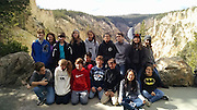 Pin Oak eighth-graders with Principal Rita Graves (top row, second from left) on their trip to the West