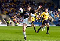 Photo: Alan Crowhurst.<br />Oxford United v Northampton Town. Coca Cola League 2. 22/04/2006. Scott McGleish on the ball for Northampton.