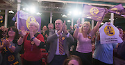 © Licensed to London News Pictures. 28/02/2015. Margate, UK. Delegates at the second day of the conference.  The UKIP spring conference at Margate Winter Gardens 28th February 2015. Photo credit : Stephen Simpson/LNP