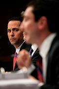 US Senate Hearing of witnesses from Goldman Sachs.