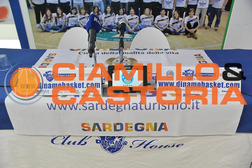 SASSARI 24 Novembre 2015<br /> Presentazione Marco Calvani Dinamo Banco di Sardegna Sassari<br /> NELLA FOTO Conferenza Stampa<br /> FOTO CIAMILLO