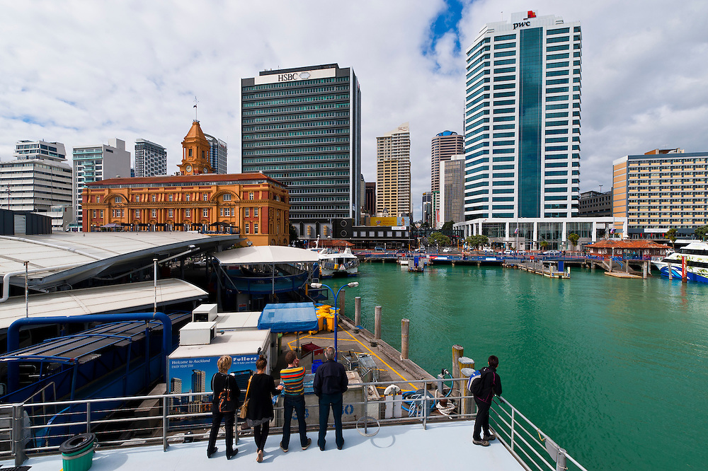 Waterfront, Queen's Wharf, Auckland, New Zealand