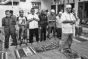 Friday prayer at the Abu Albani Centre (for mental health) in Bekasi, Jakarta, Indonesia, 2016 - Photograph by David Dare Parker