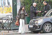 13.NOVEMBER.2011. PARIS<br /> <br /> FORMER INTERNATIONAL MONETARY FUND BOSS, DOMINIQUE STRAUSS KAHN AND HIS WIFE ANNE SINCLAIR LEAVING THE 'CLOSERIE DES LILAS' RESTAURANT, IN PARIS.<br /> <br /> **EXCLUSIVE PICTURES** <br /> <br /> <br /> BYLINE: EDBIMAGEARCHIVE.COM<br /> <br /> *THIS IMAGE IS STRICTLY FOR UK NEWSPAPERS AND MAGAZINES ONLY*<br /> *FOR WORLD WIDE SALES AND WEB USE PLEASE CONTACT EDBIMAGEARCHIVE - 0208 954 5968*