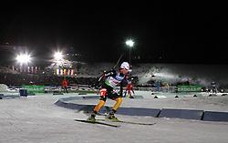 04.01.2012, DKB-Ski-ARENA, Oberhof, GER, E.ON IBU Weltcup Biathlon 2012, Staffel Frauen, im Bild Andrea Henkel (GER) // during relay Ladies of E.ON IBU World Cup Biathlon, Thüringen, Germany on 2012/01/04. EXPA Pictures © 2012, PhotoCredit: EXPA/ nph/ Hessland..***** ATTENTION - OUT OF GER, CRO *****