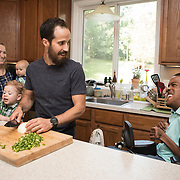 Among the activities Donald enjoys with the rest of the family is cooking.  For Novant Health