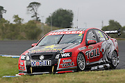 Garth Tander (Holden Racing Team). Official Test Day of the 2011 V8 Supercar Championship Series. Eastern Creek International Raceway on Saturday 29 January 2011. Photo © Clay Cross / PHOTOSPORT