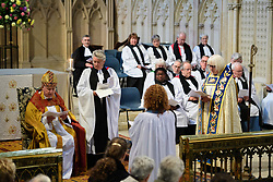 Choral Evensong with the Installation of Rev Sal McDougall as Prebendary of Marston St Lawrence and Precentor of Lincoln at Lincoln Cathedral<br /> <br /> Picture: Chris Vaughan Photography for Lincoln Cathedral<br /> Date: September 10, 2017