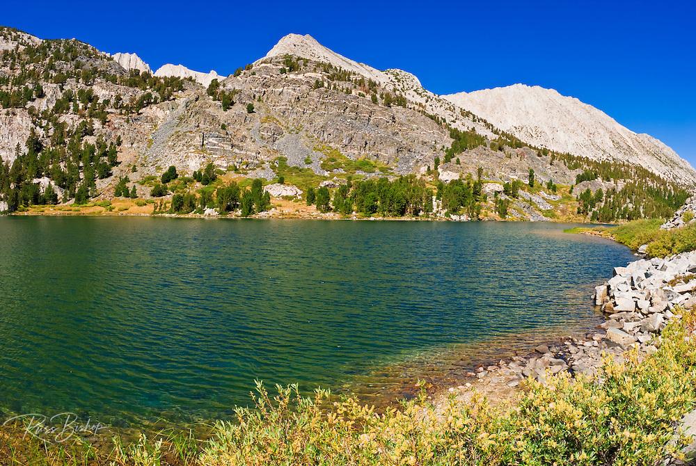 Long Lake in Little Lakes Valley, John Muir Wilderness, Sierra Nevada Mountains, California