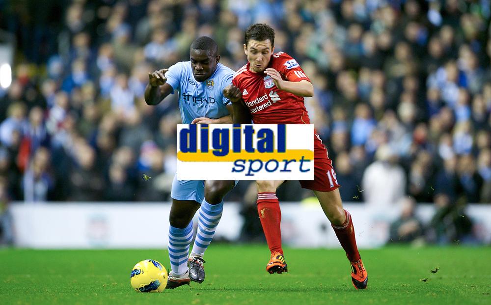 20111127: LIVERPOOL, ENGLAND - <br /> FC Liverpool vs Manchester City: English Premier League 2011/2012.<br />  PHOTO: CITYFILES