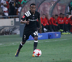 Thembinkosi Lorch in a match between Orlando Pirates  and Cape Town City at  Fnb Stadium on Tuesday September 19, 2017.