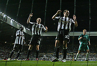 Photo: Andrew Unwin.<br /> Newcastle United v Levadia Tallinn. UEFA Cup. 28/09/2006.<br /> Newcastle rue a missed opportunity.