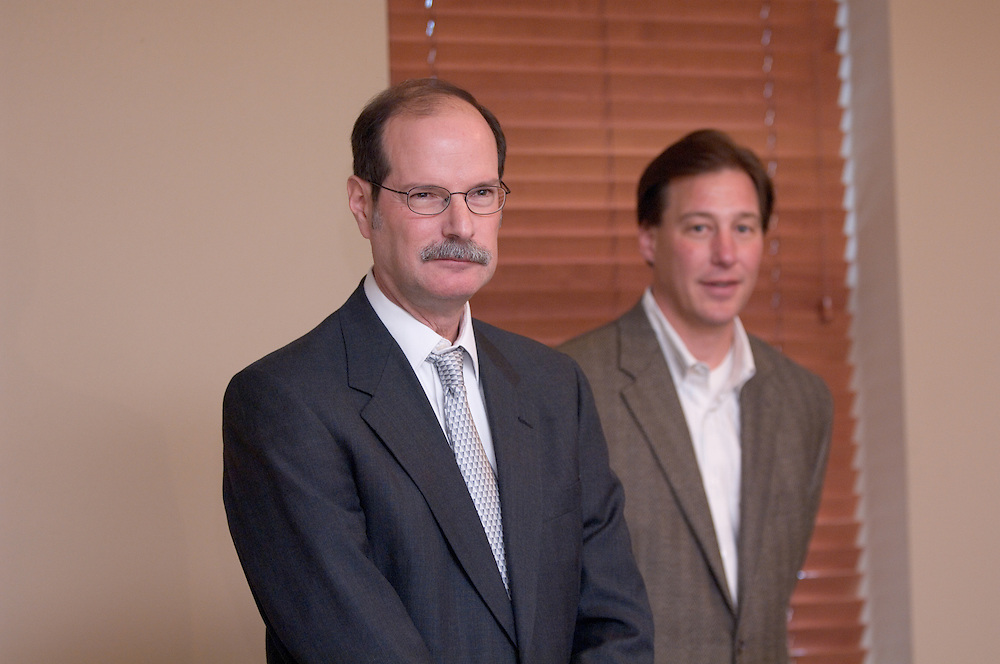 Mark Weinberg, director of the Voinovich Center, Lynn Gellermann, a founding partner of Adena Ventures...11/17/06..Contact: Media Relations Coordinator Jessica Stark at 740-597-2938 or starkj@ohio.edu, or Director of Research Communications Andrea Gibson at 740-597-2166 or gibsona@ohio.edu....State Awards $3.5 Million for Southeast Ohio Business Growth.Ohio University, Adena Ventures partnership to benefit Appalachian entrepreneurs..ATHENS, Ohio (Nov. 17, 2006) - The state of Ohio has awarded $3.5 million to Ohio University's Voinovich Center for Leadership and Public Affairs and venture capital firm Adena Ventures to invest in new technology businesses in the 19 counties of Southeast Ohio. ..The funds will expand the partnership, which has become a national model for rural economic development. This initial award - which sets up a pre-seed fund and business assistance for digital technology companies - is part of a larger proposal submitted to the state that could attract more funding this spring.   ..The Ohio Department of Development announced the award of funds from its Third Frontier Entrepreneurial Signature Program, which supports technology-based business growth throughout the state. ..The Voinovich Center, Adena Ventures and area investors will identify and support regional entrepreneurs who need professional expertise and funding to launch their businesses. The program is unique because it offers venture capital funding to smaller, higher risk ventures in the areas of digital interactive media and life sciences for the first time in Southeast Ohio...?Adena and the Voinovich Center have a five-year track record of assisting early-stage companies in Appalachian Ohio. This award represents an important milestone for furthering our work in this region,? said Lynn Gellermann, a founding partner of Adena Ventures. ..Since 2002, Adena Ventures has invested $13 million in 10 companies and provided nearly $4 million of operational assistance to more than 60 compan