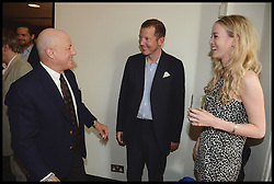 Ronald O.Perelman, Nat Rothschild and Guest  attend the National Youth Orchestra of The United States of America Reception at the <br /> The Royal Albert Hall hosted by Ronald O.Perelman, London, United Kingdom,<br /> Sunday, 21st July 2013<br /> Picture by Andrew Parsons / i-Images
