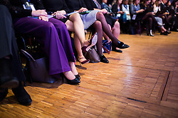 opening session of the Women's Forum Global Meeting in Paris on November 15, 2018. Photo by Raphaël Lafargue/ABACAPRESS.COM