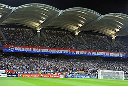 27.09.2011, Stade de Gerland, Lyon, FRA, UEFA CL, Gruppe D, Olympique Lyon (FRA) vs Dinamo Zagreb (CRO), im Bild Stands // during the UEFA Champions League game, group D, Olympique Lyon (FRA) vs Dinamo Zagreb (CRO) at de Gerland stadium in Lyon, France on 2011/09/27. EXPA Pictures © 2011, PhotoCredit: EXPA/ nph/ Pixsell +++++ ATTENTION - OUT OF GERMANY/(GER), CROATIA/(CRO), BELGIAN/(BEL) +++++