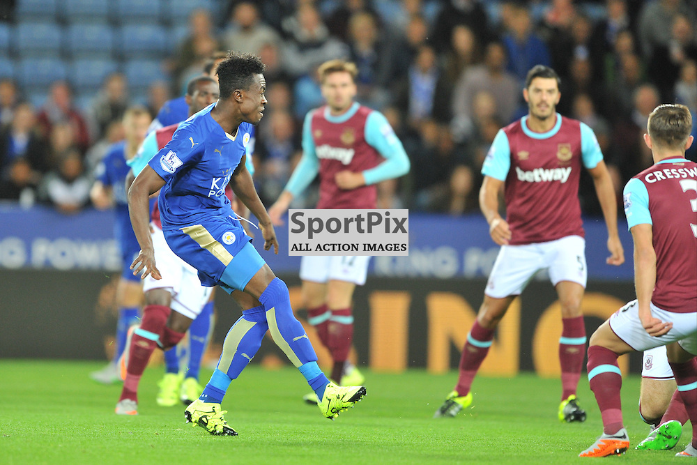 Joe Dooo scores Leicesters GoalLeicester City v West Ham Utd, Carling Cup, King Power Stadium, Tuesday 22nd September 2015.