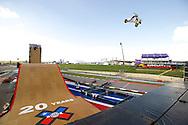 Trey Wood during Skate Big Air Practice at 2014 X Games Austin in Austin, TX.    ©Brett Wilhelm/ESPN