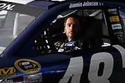 January 2013: filming of NASCAR commercials. <br /> <br /> Jimmie Johnson