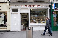 Murphy's butchers in DunLaoghaire in Dublin Ireland