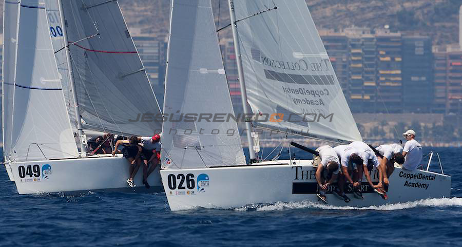 Platu 25 world championship in Alicante,Spain,July 2010