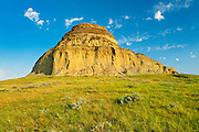 Badlands at Castle Butte<br /> Big Muddy Badlands<br /> Saskatchewan<br /> Canada