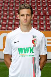 08.07.2015, WWK Arena, Augsburg, GER, 1. FBL, FC Augsburg, Fototermin, im Bild Marco Schuster #29 (FC Augsburg) // during the official Team and Portrait Photoshoot of German Bundesliga Club FC Augsburg at the WWK Arena in Augsburg, Germany on 2015/07/08. EXPA Pictures © 2015, PhotoCredit: EXPA/ Eibner-Pressefoto/ Kolbert<br /> <br /> *****ATTENTION - OUT of GER*****