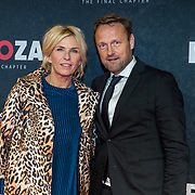 NLD/Amsterdam/20191118 - Filmpremiere Penoza: The Final Chapter, Anita Witzier en partner Michel Nillesen