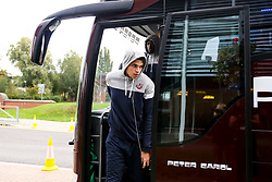 Bristol Flyers arrive at The University of Worcester Arena for their BBL fixture with Worcester Wolves - Mandatory by-line: Robbie Stephenson/JMP - 05/10/2018 - BASKETBALL - University of Worcester Arena - Worcester, England - Bristol Flyers v Worcester Wolves - British Basketball League