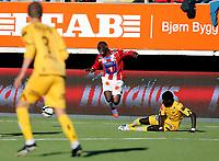 Fotball<br /> Norgescup 2012 19.08.2012<br /> Tromsø vs Bodø/Glimt ( 1 - 0 )<br /> <br /> Saliou Ciss, Tromsø<br /> Krister Wemberg, Bodø/Glimt<br /> Papa Ndiaye, Bodø/Glimt<br /> <br /> Foto: Tom Benjaminsen / Digitalsport