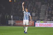 Jonathan Hogg of Huddersfield Town (6) in action during the Premier League match between Huddersfield Town and Fulham at the John Smiths Stadium, Huddersfield, England on 5 November 2018.