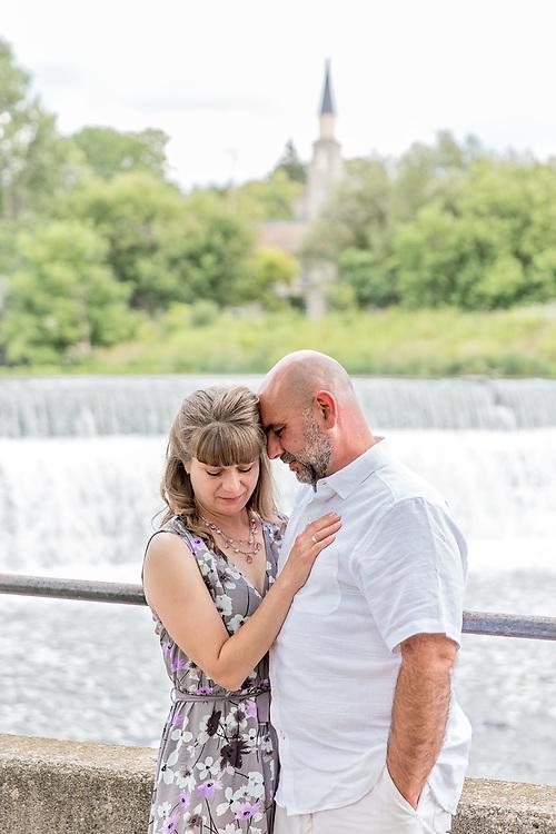 Sherri & Paul's Sweet Hespeler Engagement Session