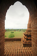 View from one of Bagan's temples