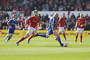 Brentford midfielder Alan McCormack during the Sky Bet Championship match between Nottingham Forest and Brentford at the City Ground, Nottingham, England on 2 April 2016. Photo by Chris Wynne.