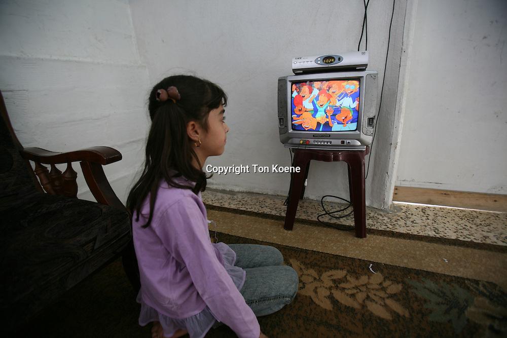 Refugee girl from Iraq in Amman, Jordan