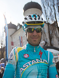 16.04.2013, Hauptplatz, Lienz, AUT, Giro del Trentino, Etappe 1, Lienz nach Lienz, im Bild Vincenzo Nibali (Astana Pro Team) // during stage 1, Lienz to Lienz of the Giro del Trentino at the Hauptplatz, Lienz, Austria on 2013/04/16. EXPA Pictures © 2013, PhotoCredit: EXPA/ Johann Groder