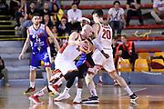 Davide Parente<br /> Virtus Roma - Angelico Biella<br /> Campionato Basket LNP 2017/2018<br /> Roma 18/04/2018<br /> Foto Gennaro Masi / Ciamillo - Castoria