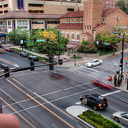 47th and Pennsylvania - intersection and traffic photo, Kansas City, Missouri. Taken for Rhythm Engineering.