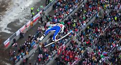 05.02.2017, Heini Klopfer Skiflugschanze, Oberstdorf, GER, FIS Weltcup Ski Sprung, Oberstdorf, Skifliegen, im Bild Anke Lanisek (SLO) // Anze Lanisek of Slovenia during mens FIS Ski Flying World Cup at the Heini Klopfer Skiflugschanze in Oberstdorf, Germany on 2017/02/05. EXPA Pictures © 2017, PhotoCredit: EXPA/ Peter Rinderer