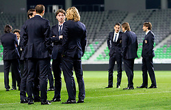 National team of Italy at Stadium Stozice 1 day before EURO 2012 Qualifications match against Italy, on March 24, 2011, SRC Stozice, Ljubljana, Slovenia. (Photo by Vid Ponikvar / Sportida)