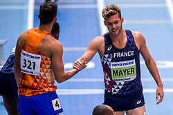 03-03-2018 GBR: World Indoor Championships Athletics day 3, Birmingham<br /> Kevin Mayer FRA, Eelco Sintnicolaas NED, Heptathlon